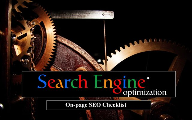 On-page SEO Checklist: How to Build a Perfectly Optimized Website Page