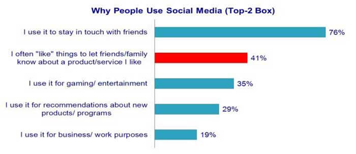 Why do People Use Social Networks Anyway?