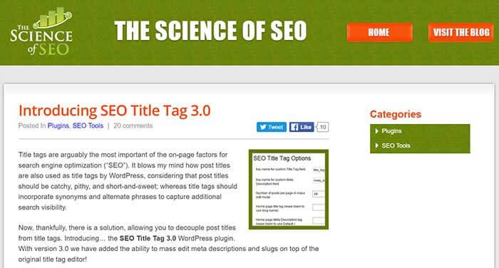 SEO Title Tag 3.0