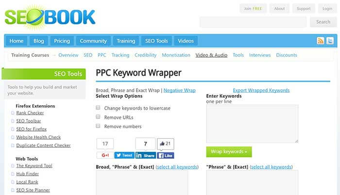 PPC Keyword Wrapper