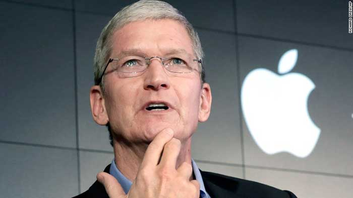 the company's current CEO Tim Cook
