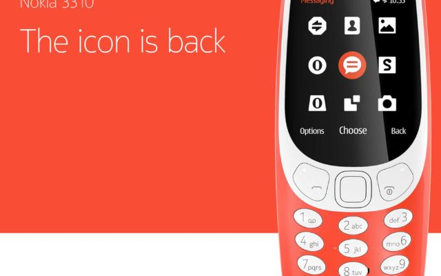 Nokia 3310 (2017) Relaunch: A Classic Case of Rebranding