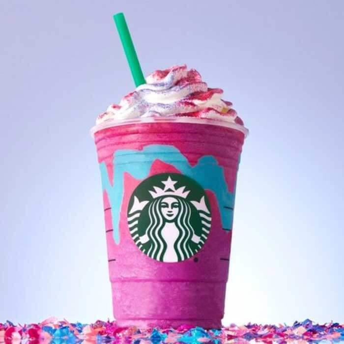 Starbucks Premieres «Unicorn Frappuccino»