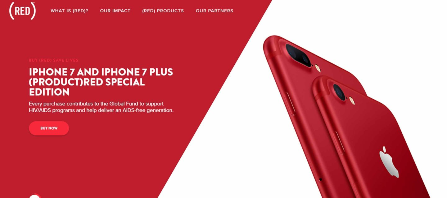 7 Key Steps of Brand Strategy Development Exemplified by iPhone 7 RED