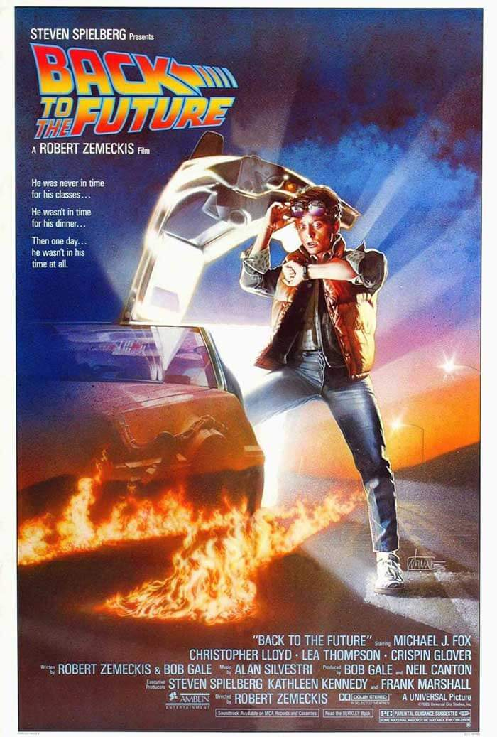 "1985 adventure extravaganza ""Back to the Future"""