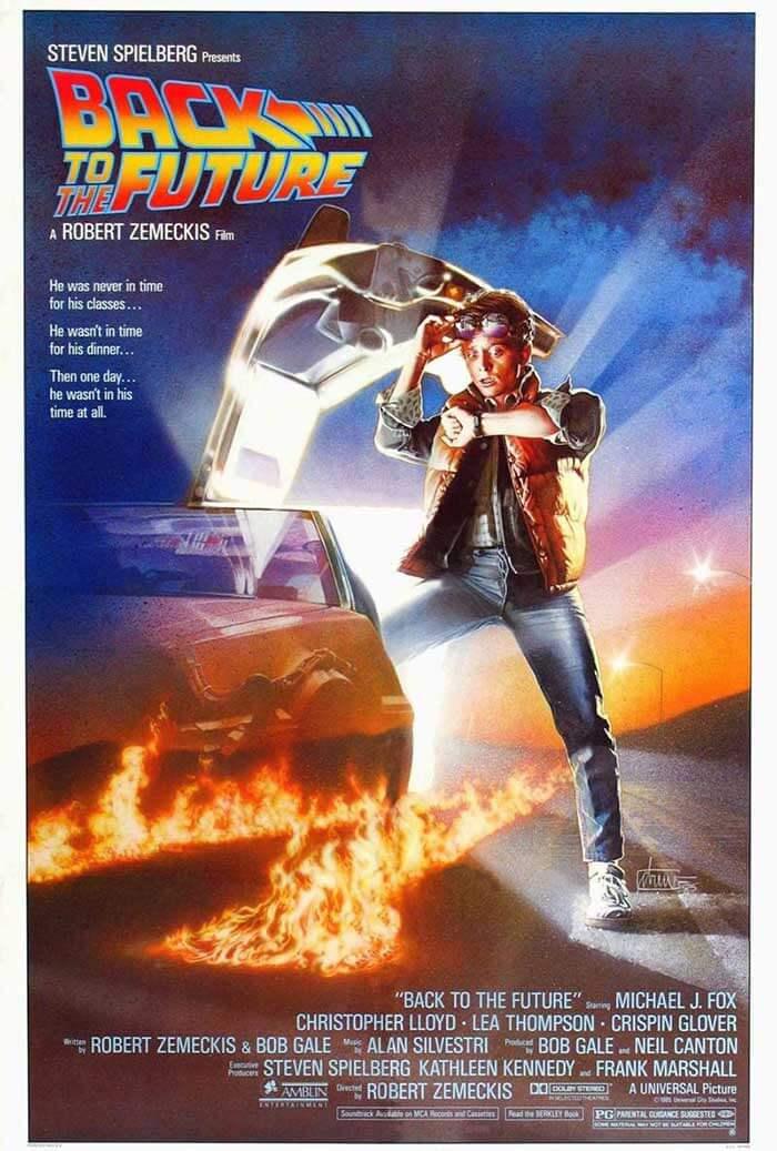 "1985 adventure extravaganza ""Back to the Future"""