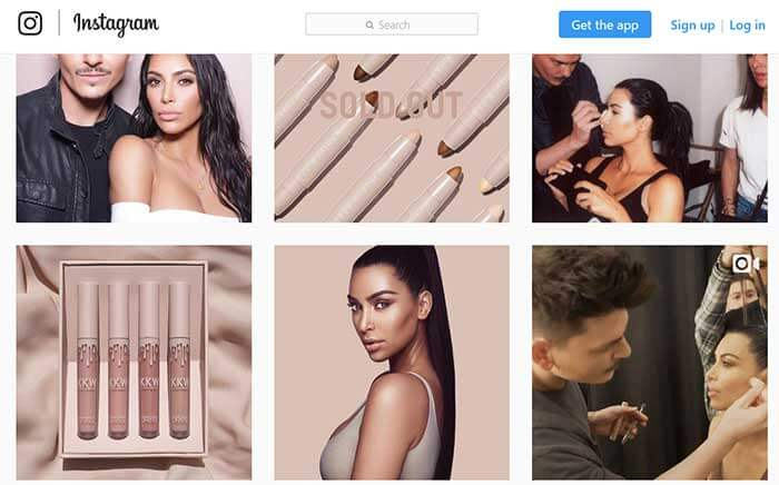 A simple Instagram post on Kim Kardashian's page can push a product to unexpected heights