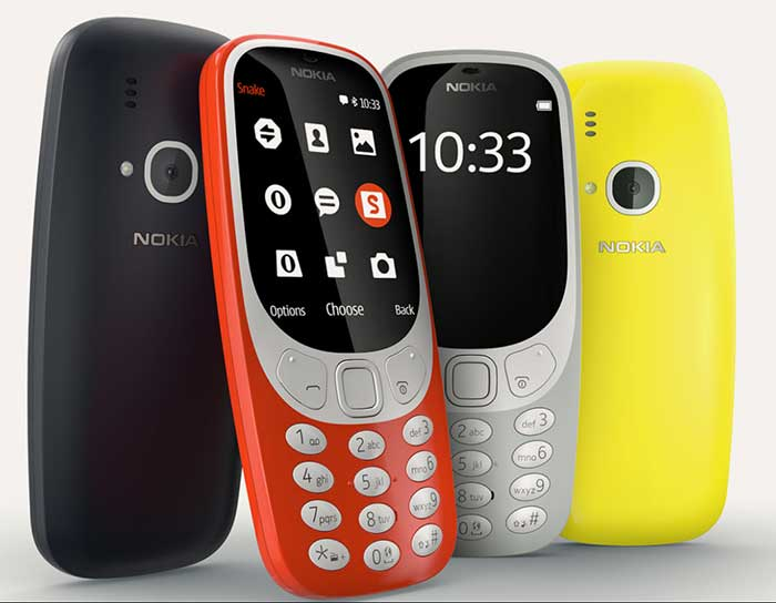 Nokia relaunched one of its most successful models, Nokia 3310