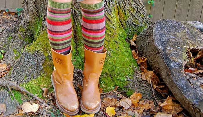 multicolored socks lovers