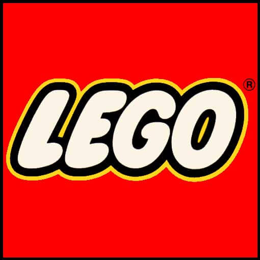 Lego logo from 1973 to 1998